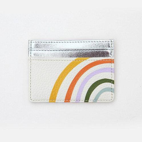 Reisekartenhalter/Etui Regenbogen