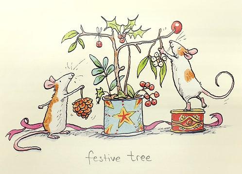 festive tree