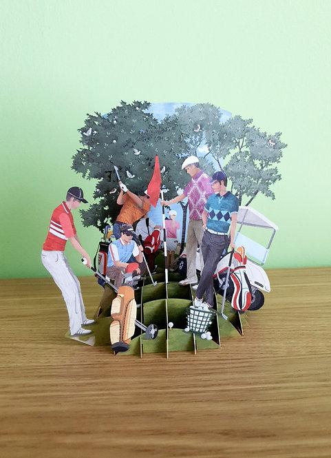 3D Karte Golf World