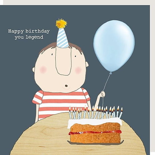 Happy Birthday you legend