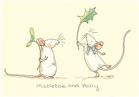 Mistletoe an Holly