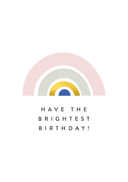Have the brightest Birthday!