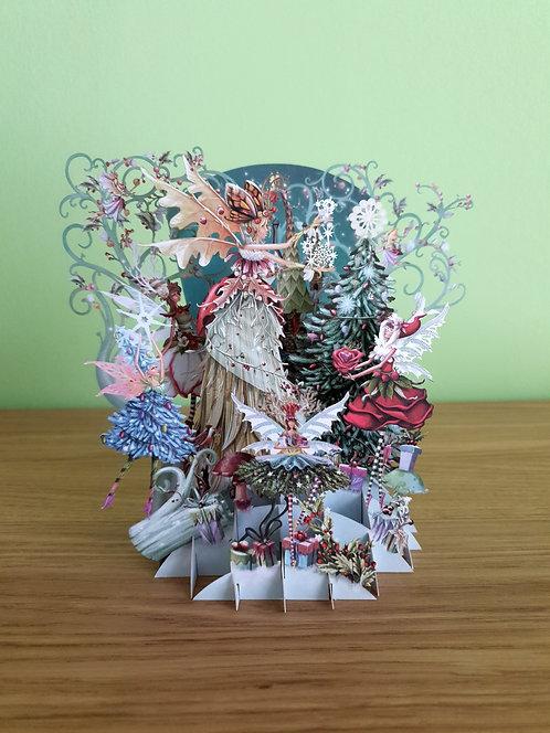 """3D Karte """"Fairy Snow"""""""
