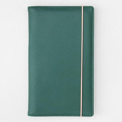 Reisebrieftasche Grün