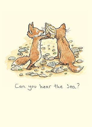 Can you hear the sea?