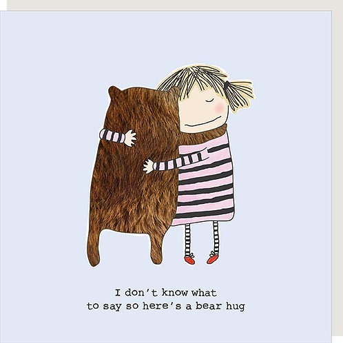I don't know what to say so here's a bear hug