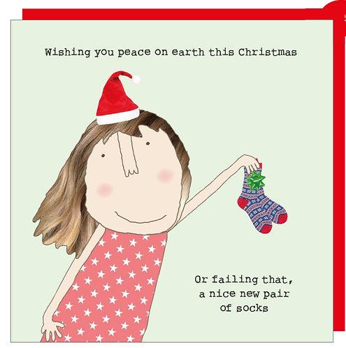 Wishing you peace on earth this Christmas