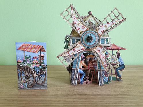3D Karte The Windmill Tea Shop