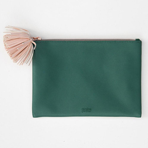 Clutch Tasche Grün