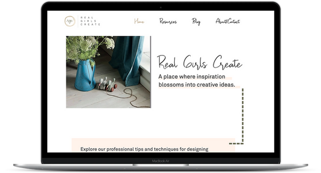 Real Girls Create by Amanda Loftis Desig
