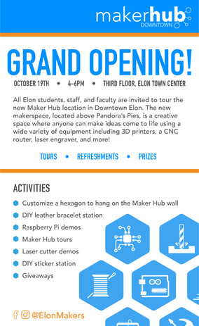 Maker Hub Newspaper Ad