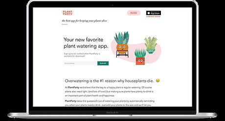 Plant Party by Amanda Loftis Design