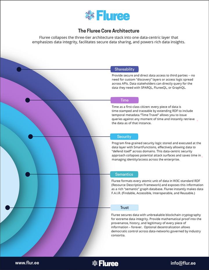 Fluree Core Graphic by Amanda Loftis Design