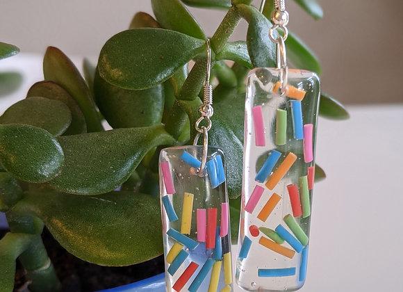Confetti Dangle Earrings