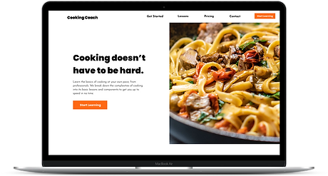 Cooking Coach by Amanda Loftis Design