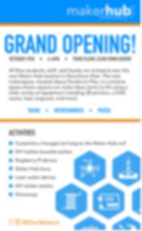 Elon Maker Hub Poster
