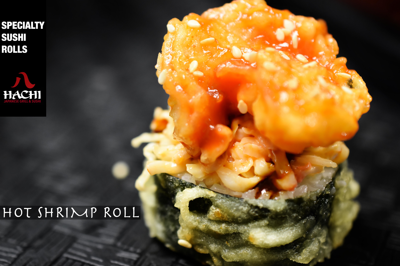 hot shrimp roll