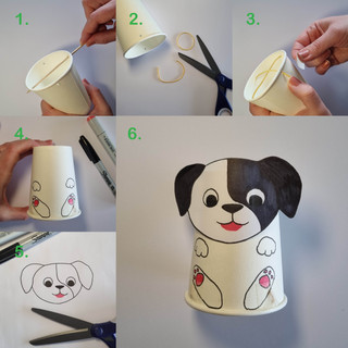 Jumping Pup Cup