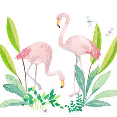 Jungle Flamingos