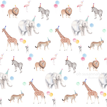 Party Animal Pattern