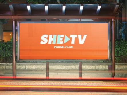 SheTV | Branding & Visual Identity