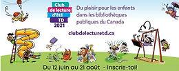 Club de lecture d'été TD 2021