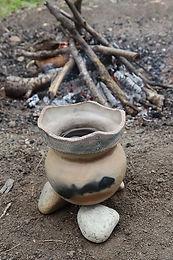 Atelier de poterie préhistorique