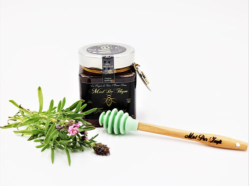 Miel 100% pura de tomillo marroquí, tarro de 300g
