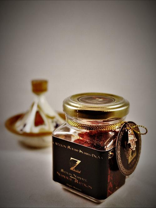 Natural saffron from Morocco, Crocus Sativus, in pistils. 100% PUR