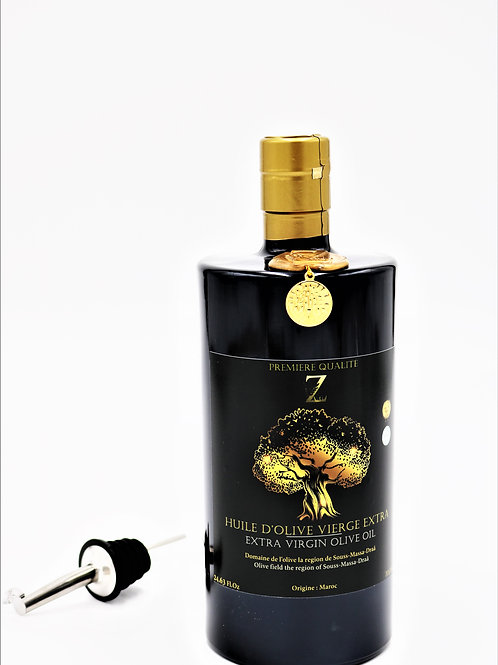 Aceite de oliva marroquí, primer prensado en frío 100% PURO