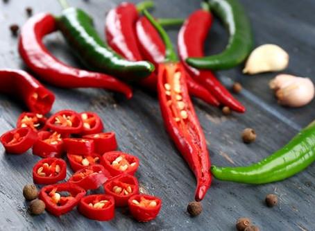 Le poivre de Cayenne(Zayti) : une épice exotique au goût piquant.