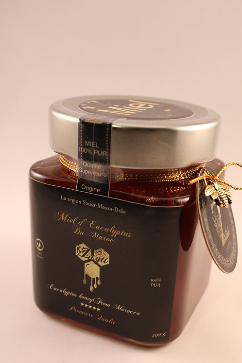 Miel d'eucalyptus du Maroc 100% pur & Authentique .