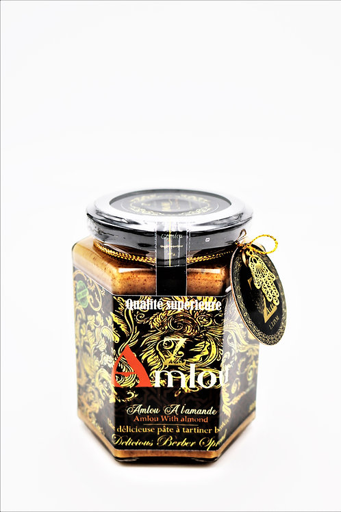 Amlou with roasted almonds (organic) 100% Natural.