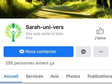Sarah-uni-vers Facebook