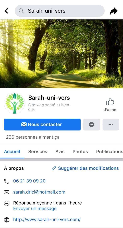 Sarah-uni-vers Facebook | Sarah-Uni-Vers - Hypnose Lille et métropole Lilloise - Gestion des émotions, addictions, angoisses, phobies, allergies, douleur - gestion de la perte de poids