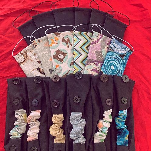 Children's Headbands with Buttons