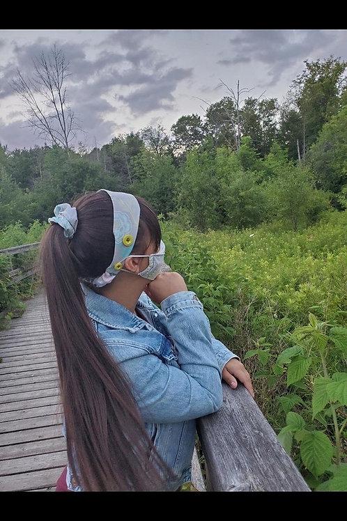 Adult Mask, Headband & Scrunchie Set