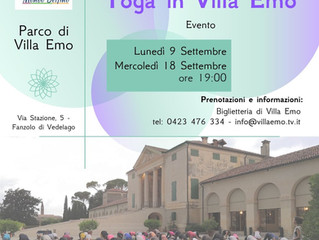 Yoga in Villa Emo