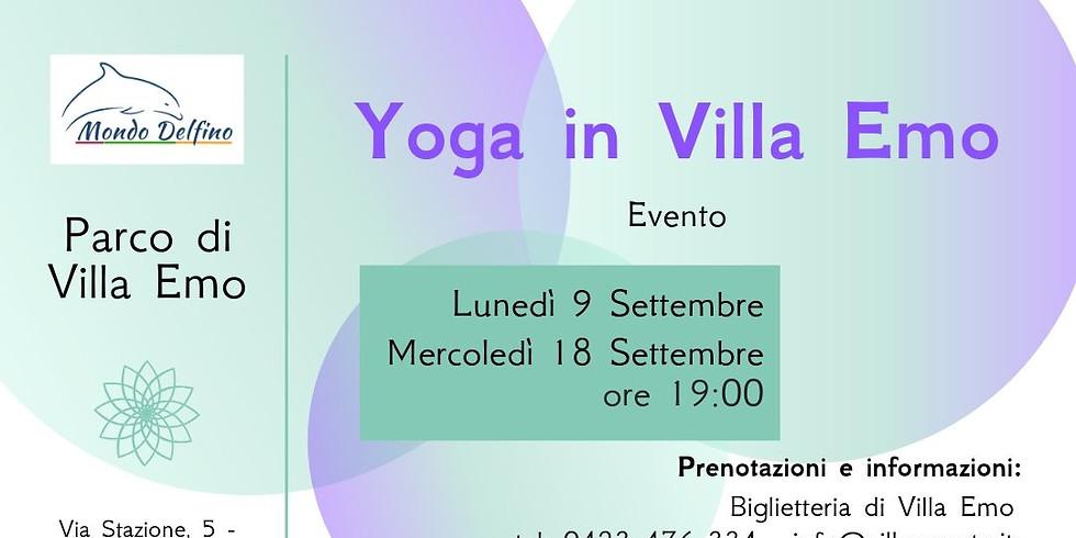 Yoga in Villa Emo