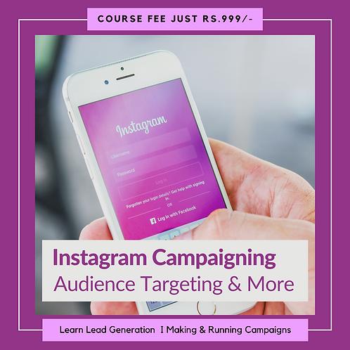 Instagram Campaining