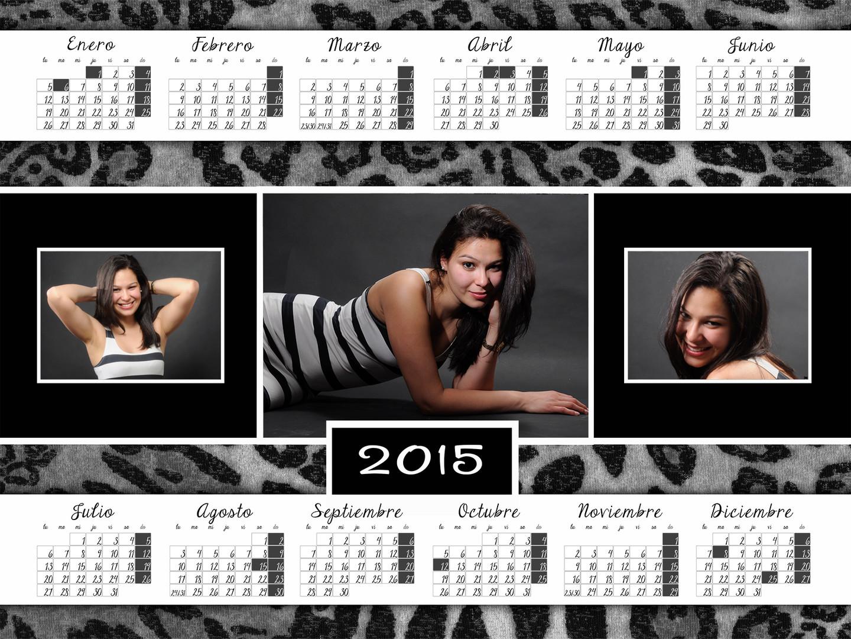 Calendario de faldilla