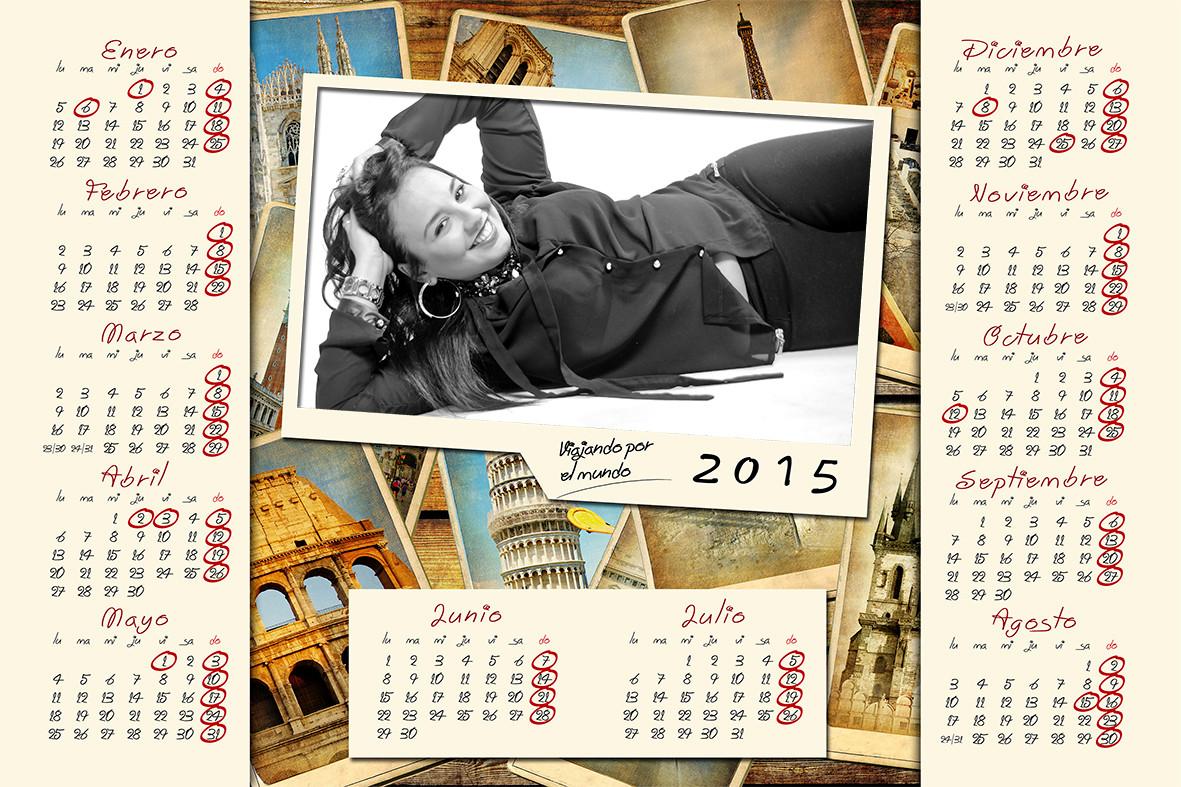 Calendario para mujeres