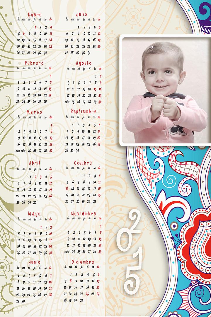 Calendarios infantiles
