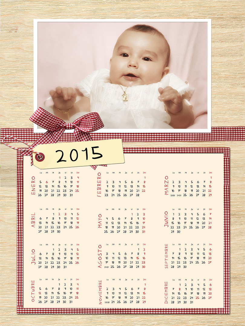calendarios personalizados 2020