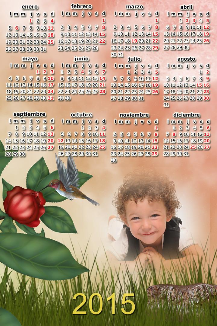 calendario de dibujos