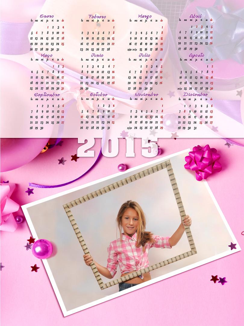 Calendarios con faldilla y tu foto