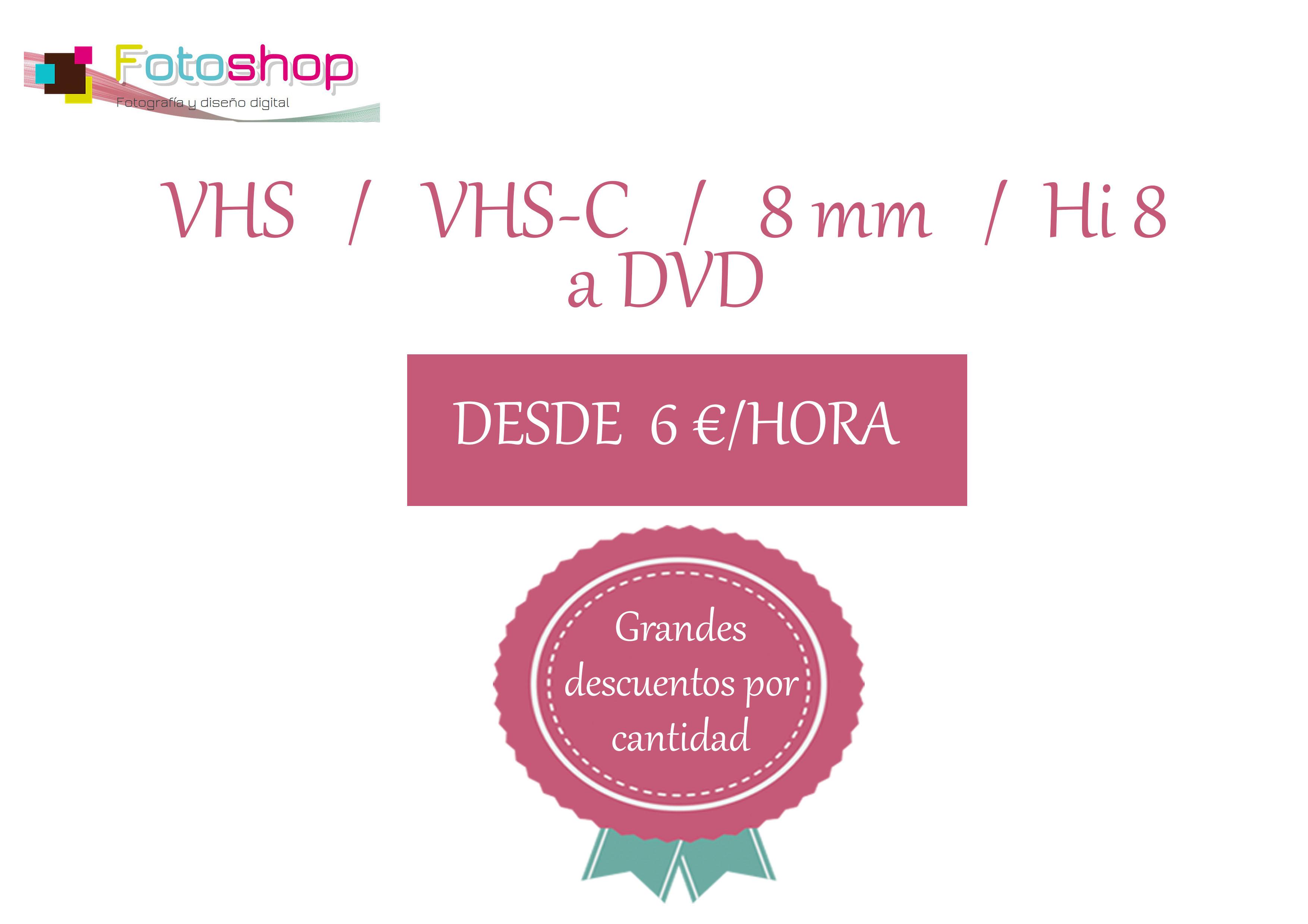 Digitalización de cintas a DVD