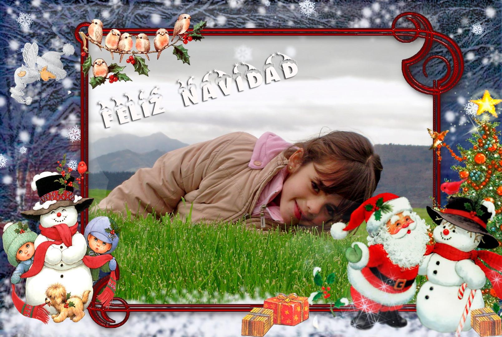 Fotos personalizadas para Navidad