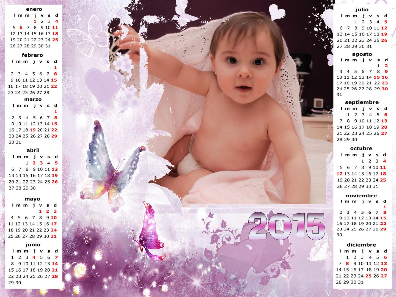 Almanaque con foto personalizada
