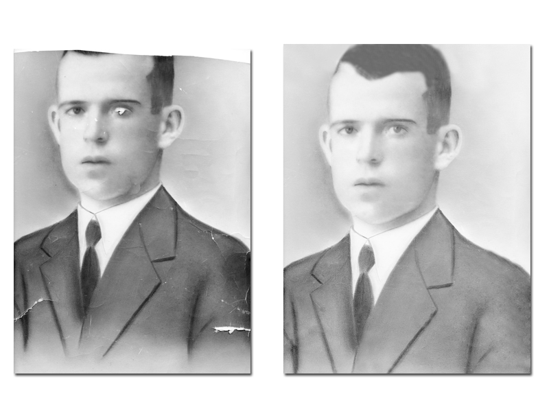 Restauración de fotos
